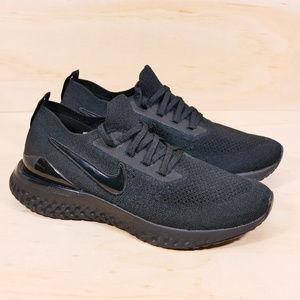 Nike Epic React Flyknit 2 Black NEW